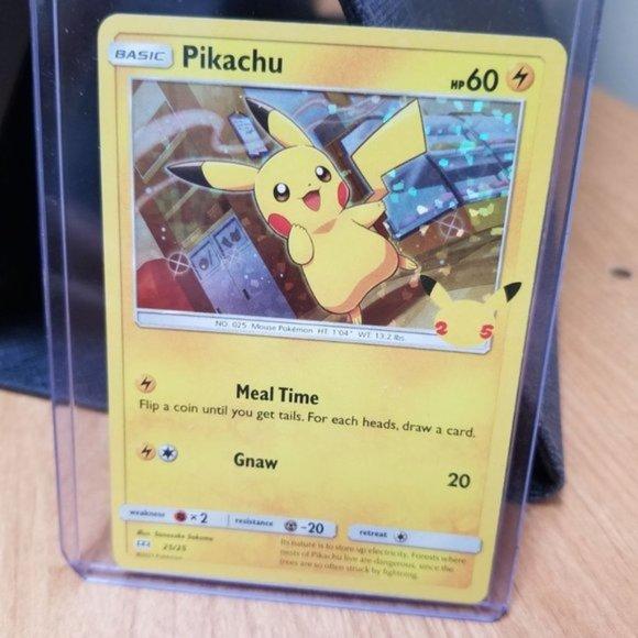 mcdonalds Pokemon Pikachu holo